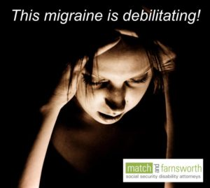 migraines can be a disability