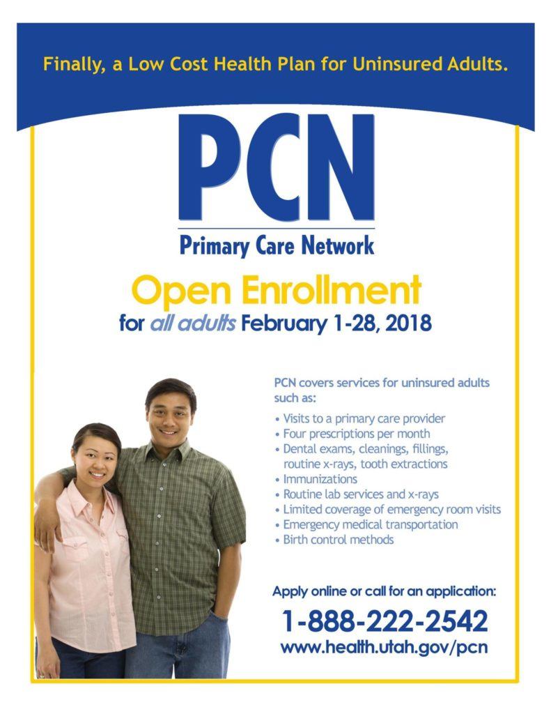 PCN Open Enrollment Flyer