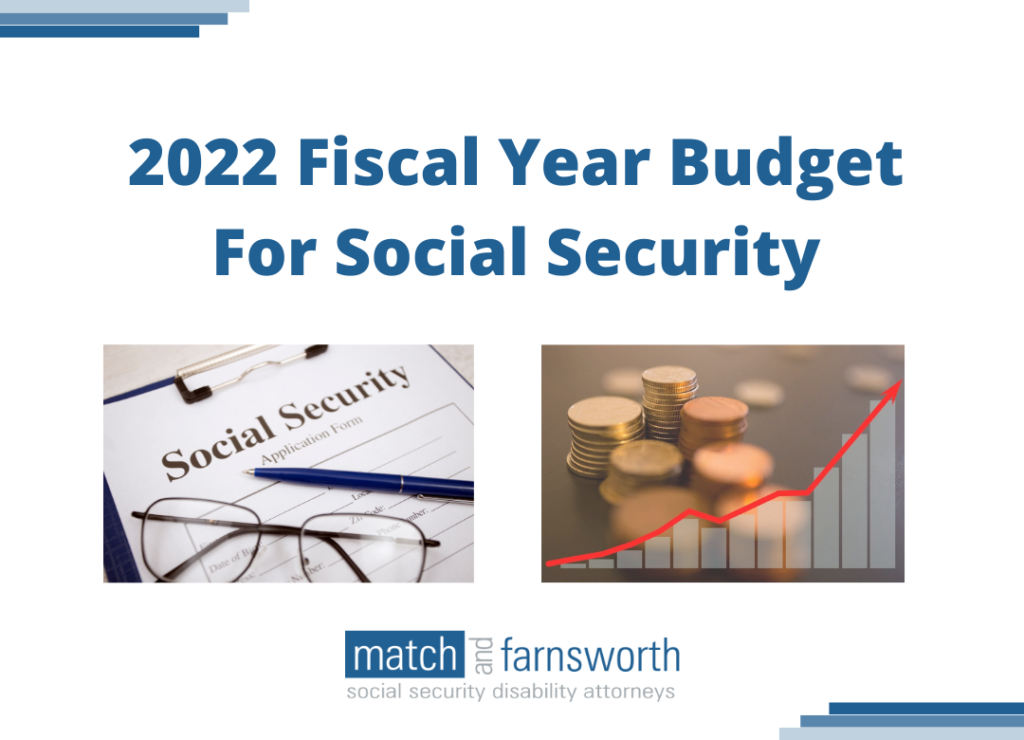2022 Fiscal Year Budget For Social Security
